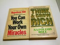 NAPOLEON HILL LOT Think And Grow Rich You Can Work Your Own Miracles For Success