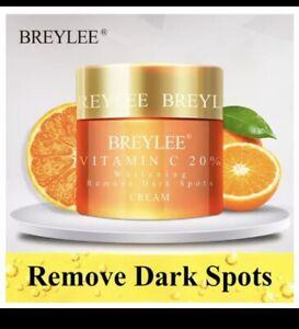 Vitamin C 20% VC Whitening Facial Cream Repair Fade Freckles Remove Dark Spots