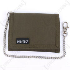 verde oliva portafoglio con catena di sicurezza - MILITARE SOLDATO portamonete