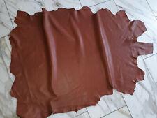 LEDER TIP 30700-N, Lederreste, 1 Lederhaut, cognacfarben nappa