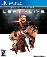 Left Alive Day One Edition [Sony PlayStation 4 PS4 Square Enix Action Mechs] NEW