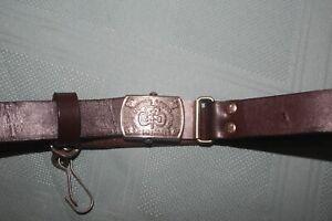 Vintage Australian Girl Guide Belt
