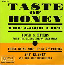 LLOYD G. MAYERS TASTE OF HONEY / ART BLAKEY THREE BLIND MICE FRENCH ORIG EP