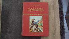 Vieux livre - COLOMBA - Librairie Delegrave 1959