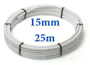 25mx15mm CHEAP plumbing pushfit barrier pipe coil Speedfit compatible plastic