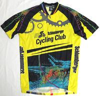 Suarez SCHLUMBERGER CYCLING CLUB Jersey MED Houston Bike SCC