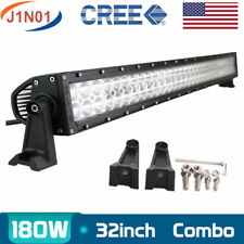 32inch 180W LED Work Light Bar Combo Driving Offroad Bumper Lamp Truck PK 30/34
