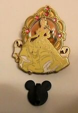 New ListingDisney Trading Pin Beauty and the Beast Princess Belle Yellow Ball Gown Rare