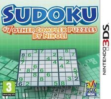Sudoku 7 Other Complex Puzzles by Nikoli Nintendo 3ds Video Game 3 DS