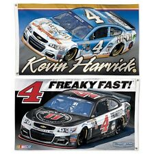 Kevin Harvick 2016 Wincraft #4 Busch Beer/Jimmy Johns 3x5 2 Sided Flag Free Ship