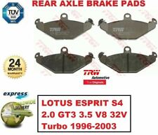 FOR LOTUS ESPRIT S4 2.0 GT3 3.5 V8 32V Turbo 1996-2003 REAR AXLE BRAKE PADS SET