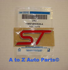 NEW 2013-2015 Ford Focus Red ST Tailgate Nameplate / Emblem, OEM Ford