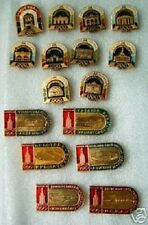 Set of 16 pc OLYMPIC pin badge MOSCOW 1980 Olympic games Russia USSR