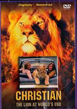 Christian The Lion : At World's End - Born Free (DVD) BRAND NEW