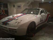 PORSCHE 944 MARTINI-Rally Auto grafica / Decalcomanie