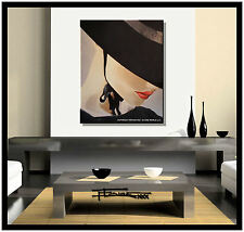 ABSTRACT PAINTING MODERN CANVAS WALL ART 30X24 ready to hang US artist ELOISExxx