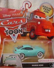 2009 Disney PIXAR CARS TOON ✿ #2 NURSE KORI ✿ New in Package