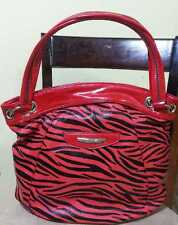 Kathy Van Zeeland Pop Rock Star Shopper Scarlett Zebra H70405 NWT