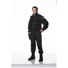 Ben Browder Stargate SG-1 Posing in Black Uniform and Vest 8 x 10 inch photo