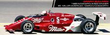 #5 Danny Sullivan Miller Indy Car Penske 1985 1/43rd Scale Slot Car Decals