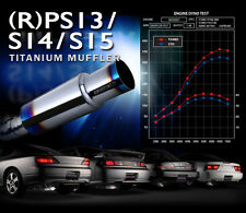 TOMEI EXPREME Ti TITANIUM MUFFLER for NISSAN S15 SR20DET TURBO  -440013