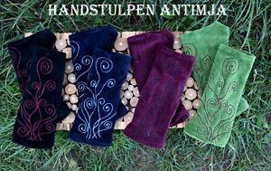 Handstulpen Samt Pulswärmer Dekorative Arm Stulpen Elfen Feen Stulpen Goa Hippie