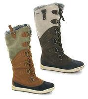 Hi-Tec Sierra Pamir 200 Tall Warm Winter Insulated Waterproof Womens Boots