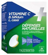 PACK 2 UDS VITAMINA C + PROBIÓTICOS DEFENSAS NATURALES 24 TABLETAS de Nutrisanté