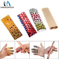 Maxcatch Fly Fishing Stripping Guards Fish Skin Pattern Finger Protect