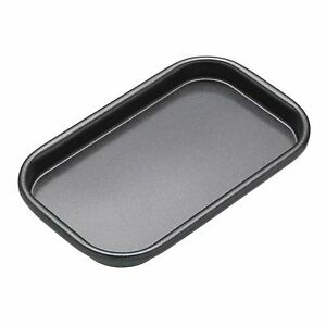 MASTERCLASS Non-Stick Individual/Mini Baking Tray. 16.5cm x 10cm/6.5 x 4 inches