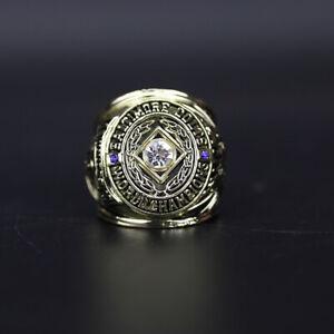 Johnny Unitas Ring 1958 Baltimore Colts Championship Ring with Display Box