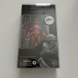 """Star Wars Black Series 6"""" Captain Cardinal Sealed With Case"""