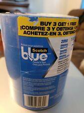 Lot Of 4 Scotch Blue 141 X 60 Ydoriginal Painters Tape 4 Rolls