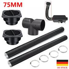 Für Webasto Diesel Standheizung 75mm Abgasrohr Abgasschlauch+Ausströmer+Clips DE