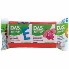 DAS Junior 100g lufthärtende Modelliermasse ROT lufttrocknende Kinderknete