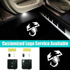 2Pcs Wireless Car Door Scorpion Welcome Lights Fit for Abarth 1000 1600 2000 204