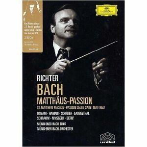 J.S. BACH Matthaus-Passion St Matthew Passion 2DVD NEW Richter NTSC Region All
