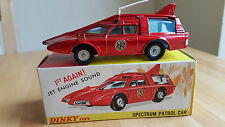 Dinky 103 Spectrum Patrol Car Captain Scarlet - Mint with Original Box 1960's