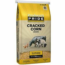 50 lb Nutricious Natural Cracked Corn Quality Feed for Cattle,Chicken,Deer,Bird