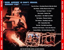 "REAL GENIUS  ""Motion Picture Soundtrack"" Val Kilmer (11 Tracks!)"