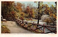 PHILADELPHIA PENNSYLVANIA~FAIRMONT PARK~ALONG WISSAHICKON CREEK POSTCARD 1900s