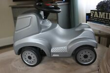 FERBEDO MERCEDES Ride-On CAR Silver Rare From Germany HARD TO FIND ITEM!