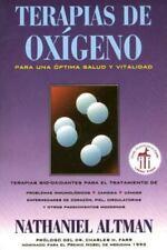 New, Terapias de Oxigeno, Nathaniel Altman, Book