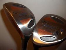 Neue Williams Gamma Titanium 3 & 5 Woods Graphitschaft Linke Hand Golfschläger