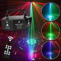 9-EYE RGB LED Laser Licht DMX DJ Projektor Disco Party Bühnenlicht Lichteffekte