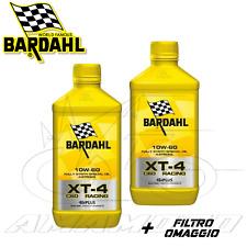 Bardahl XT-4 C60 347039 4T Olio Motore 10W60 - 4L