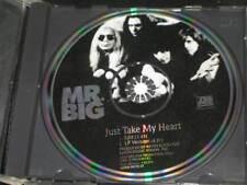 MR. BIG - Just Take My Heart - 2 Track USA DJ PROMO PICTURE CD w/ Edit! RARE OOP