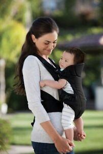 Infantino Flip Front  2 Back Baby Child Front Or Backpack Carrier Black 8-32 LBS