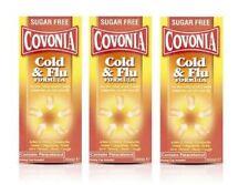 Covonia Cold and Flu Formula Sugar Free 160ml - 3 Pack