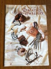 Beaded jewellery charts (taken from a magazine)